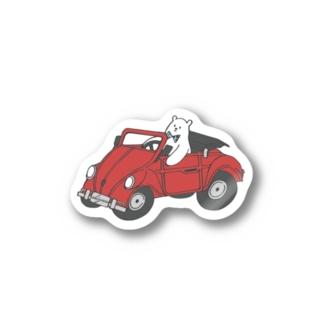 オデカケクマさん Stickers