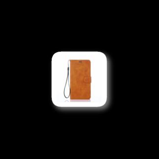 sukinoomiの手帳型ケース iPhone 8/7/7 plus/6s/6 SEケース 革 ケース レザー ケース 手帳 カード収納 財布型 Stickers