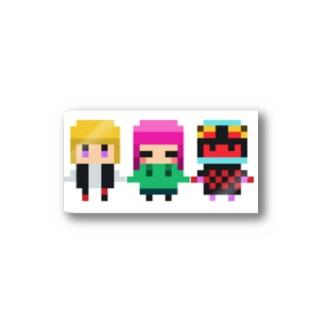 松野家三姉妹 Stickers
