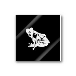 Studio:Frog おふざけ物販 「黒」 Stickers