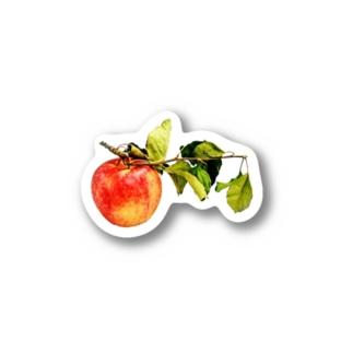 葉っぱつきりんご Stickers