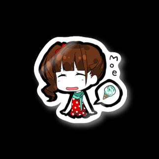 (仮)のSD Orange Canvas 栂野萌(stray cats) Stickers