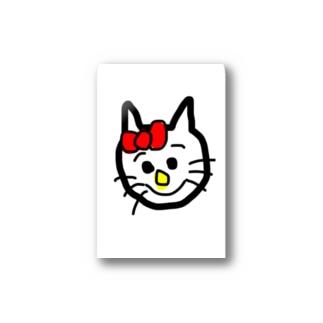 手描き キティちゃん  hello kitty  Stickers