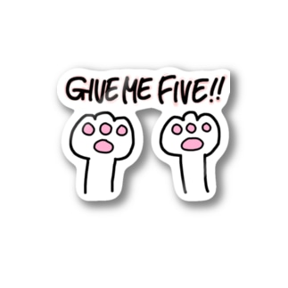 Give me five!!🙌 Stickers