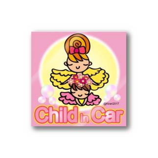 childチャイルドインカー ステッカー