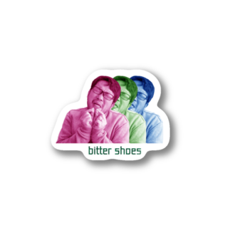 nuwtonのbitter shoes Stickers