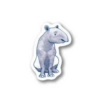 マレーバク(シンプル) Stickers