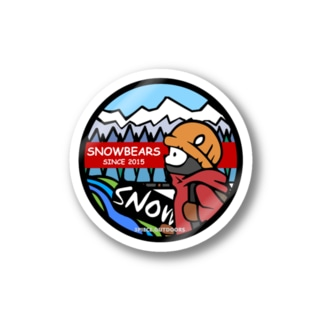 snowbears.red Stickers