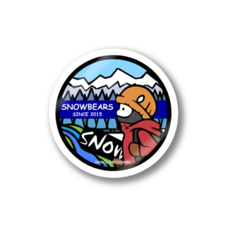 snowbears.blue Stickers