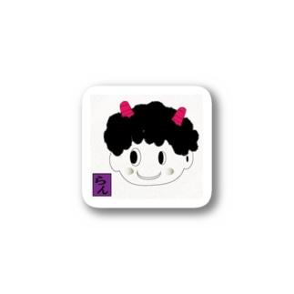 可愛い鬼嫁 Stickers