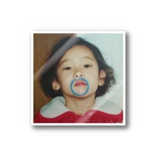 小島ふかせの幼少期です。 Stickers