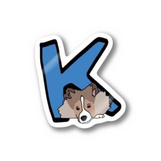 K助くん Stickers