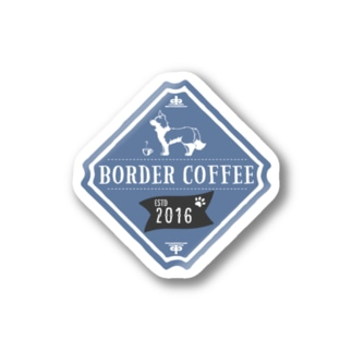 BORDER COFFEE Stickers