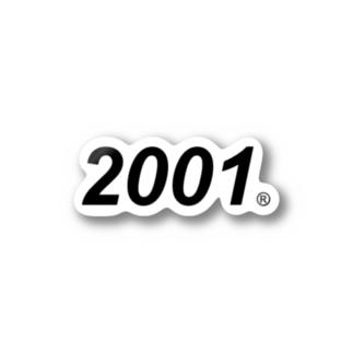 scen!c® 2001 Stickers