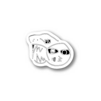 ディノサウロイドの真似ちゃん Stickers