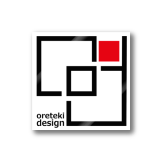 oreteki design shopの「俺デザ」第三弾! Stickers