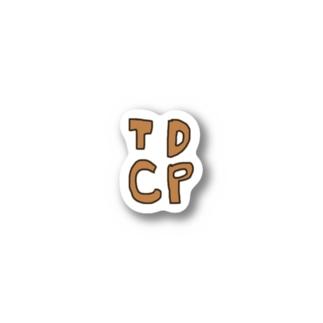 TDCP ステッカー