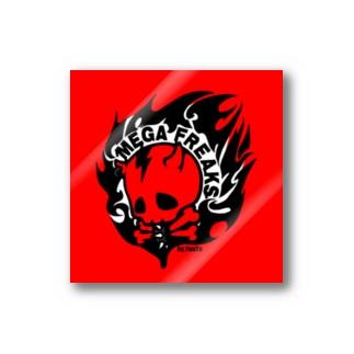 ≪ステッカー≫【MEGA FREAKS】オリジナルロゴグッズ Stickers
