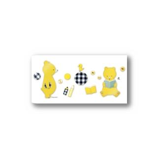 B. Stickers