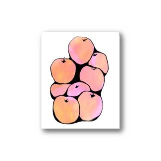 リンゴ Stickers