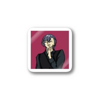 少年Mの秘密 Stickers