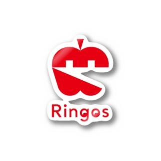 Ringos(リンゴズ) ・アイコン ステッカー