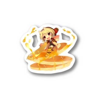 ラクタのパンパンパンケーキ Stickers