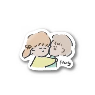 Hug ステッカー