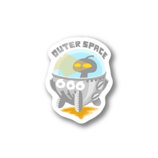 OUTER SPACE  ステッカー