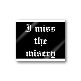 misery Stickers