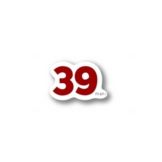 39man! Stickers