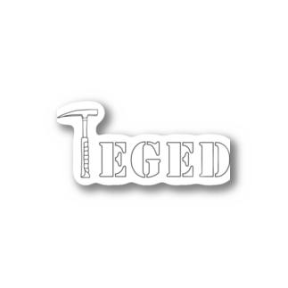 TEGEDシリーズ1 Stickers