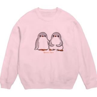 ふたごのジェンツーペンギン(ロゴあり) Sweats