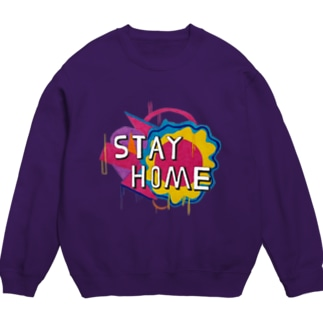 STAY HOME × STREET PAINTING Sweats