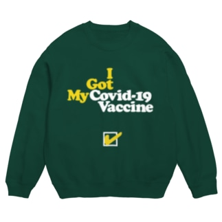 """""""I Got My Covid-19 Vaccine"""" ワクチン接種済み Sweat"""