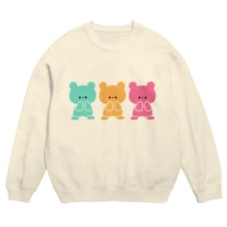 3色くまちゃん Sweats