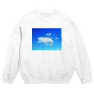 ほっこり♪クマさんの雲 Sweats