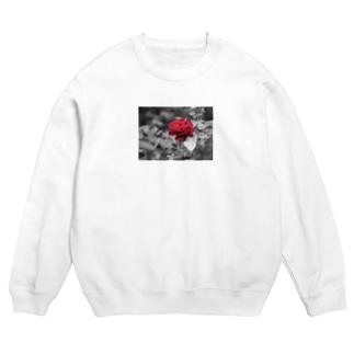 '96-creareの薔薇プリントスウェット(レギュラー) Sweats