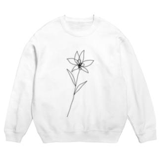 flower black Sweats