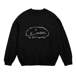 wombat ロゴ Sweats