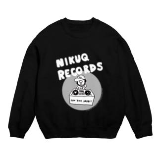 NIKUQ RECORDS スウェット
