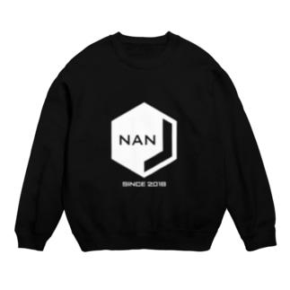 NANJCOIN公式ロゴ入り(白地) Sweats