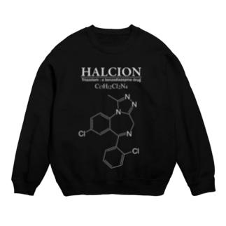 ハルシオン(トリアゾラムを使用した睡眠導入剤[睡眠薬]):化学:化学構造・分子式 Sweats