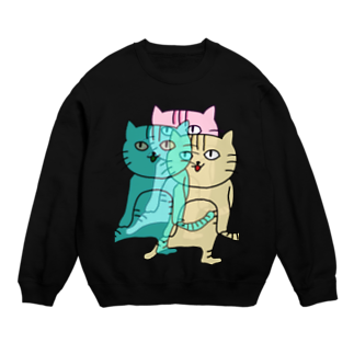Sizimi_Kusodasaの猫3 Sweats