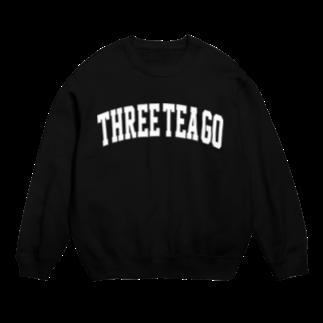 THREE TEA GO.|三茶散歩のCOLLEGE Sweats