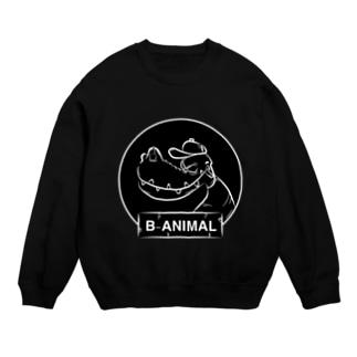 B-ANIMAL ワニ Sweats