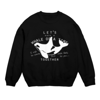 クジラのマグカップ屋さん。プラスのシャチ スウェット