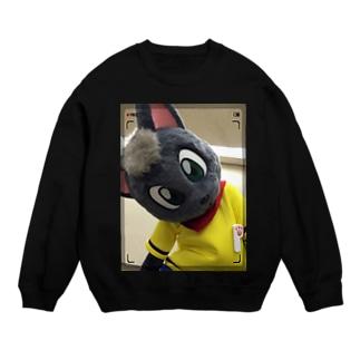 黒猫ポピー スウェット