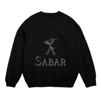【SABAR WHITE LOGO】 collection Sweats