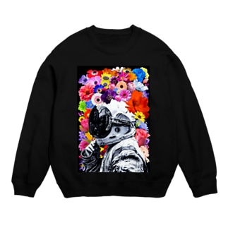 ASTRONAUT and FLOWERS Sweats